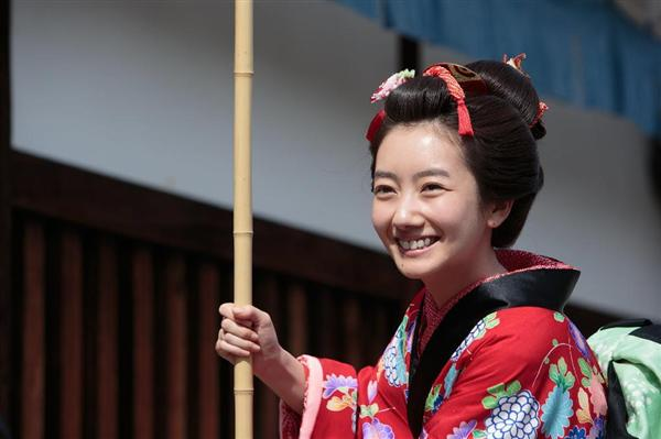 2015年、NHK連続テレビ小説「あさが来た」のヒロインに