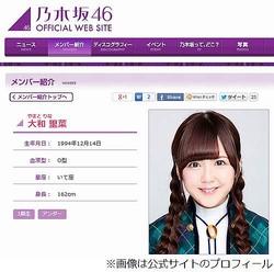 2011年、乃木坂46の1期生として加入