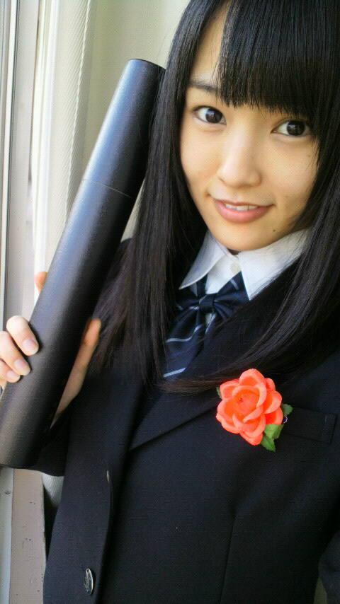 大阪薫英女学院高等学校にいたころの山本彩