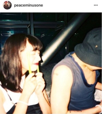 2016年9月、ジヨンのインスタ裏アカに小松菜奈の姿を