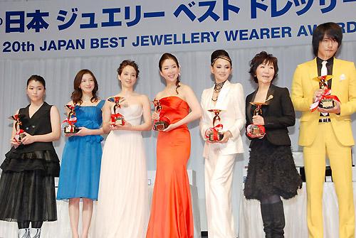 2009年、「日本ジュエリーベストドレッサー賞」を受賞