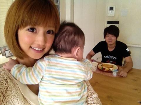 2012年、第1子となる子供を出産