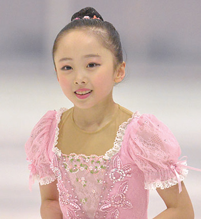 フィギュアスケートは3歳の時から
