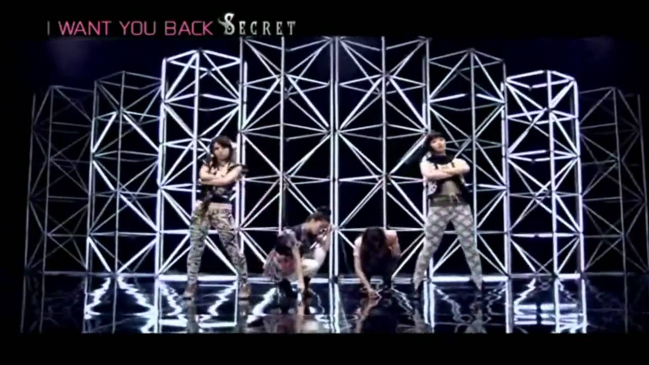 시크릿 (Secret) - I Want You Back M/V - YouTube