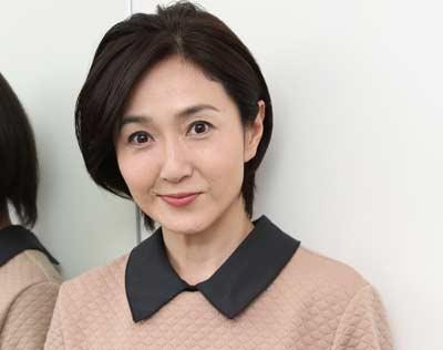 髪のアクセサリーが素敵な生稲晃子さん
