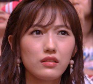 須藤凛々花の結婚発表を受けて表情が歪んできた渡辺麻友の画像