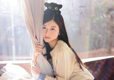 ファッションモデルの佐々木琴子さん