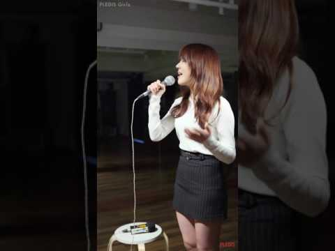 [Practice Video] 예원(PLEDIS Girlz) - When We Were Young - YouTube