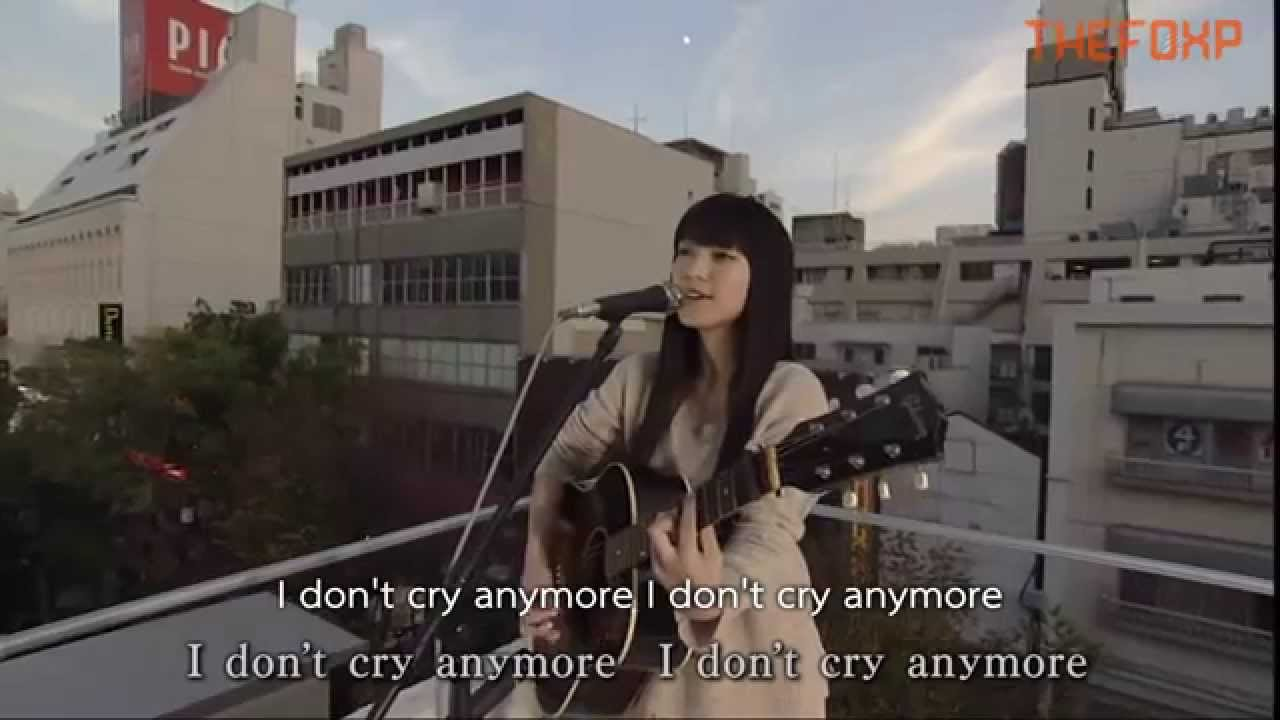 [TH]don't cry anymore - miwa(LIVE) - YouTube