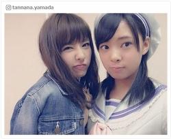 妹の山田寿々はNMB48に5期生で加入